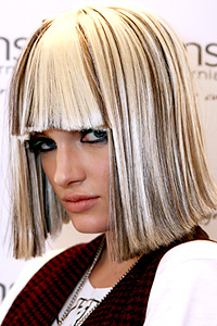 Eye catching bob hairstyle