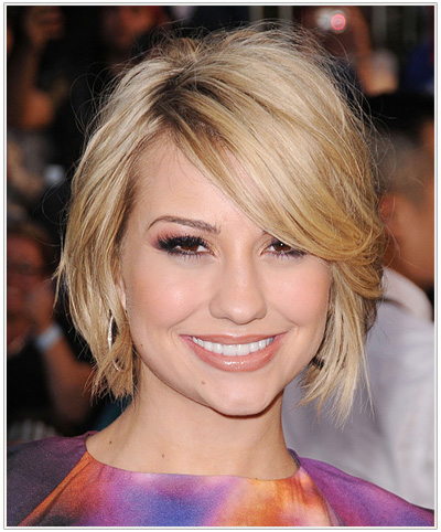 Excellent Chelsea Kane Hairstyles For A Heart Shaped Face Hairstyles Short Hairstyles Gunalazisus