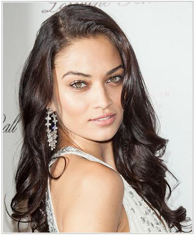 Shanina Shaik Hairstyle