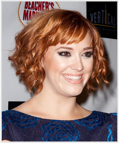 Andrea Bowen hairstyle