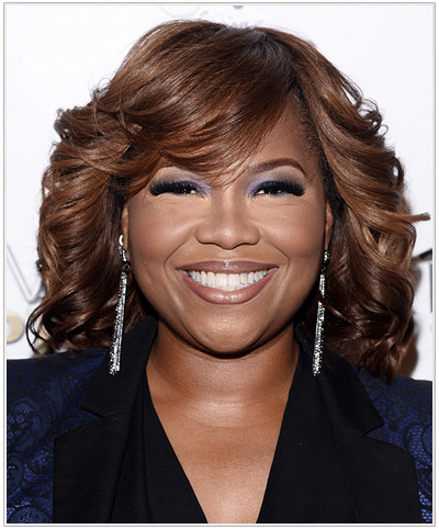 Mona Scott hairstyle
