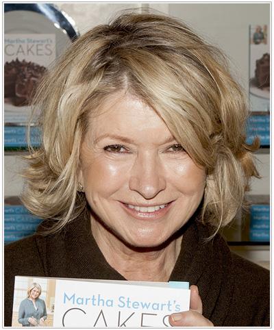 Martha Stewart hairstyle