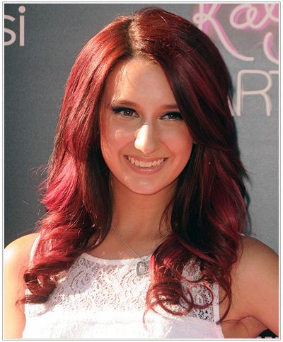 Brooklyn Haley hairstyle