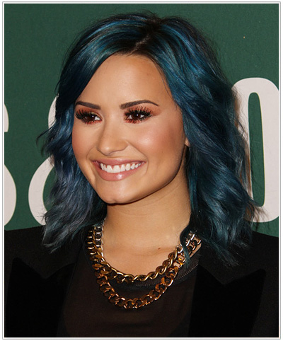 Demi Lovato hairstyle