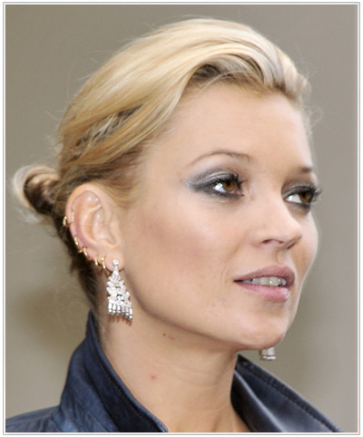 Kate Moss hairstyle