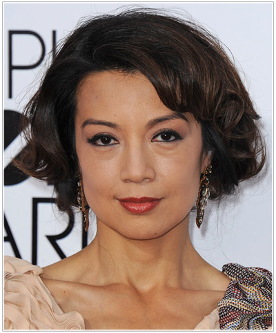 Try on Ming Na Wen hairstyles