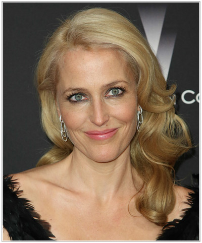 Gillian Anderson hairstyles