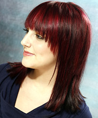 Fashionable hair color