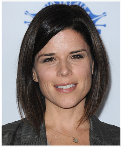 Neve Campbell hairstyles