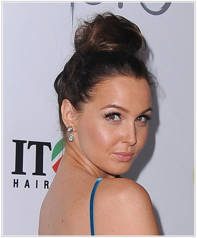 Phenomenal New Easy Party Updos Hairstyles Thehairstyler Com Hairstyle Inspiration Daily Dogsangcom