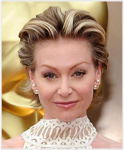 Portia de Rossi hairstyles