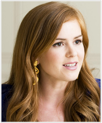Isla Fisher hairstyles