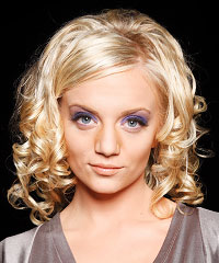 Prom Hairstyles: Curly Hair