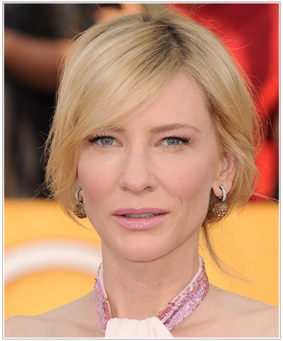 Cate Blanchette hairstyles