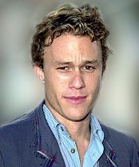 Heath Ledger hairstyles