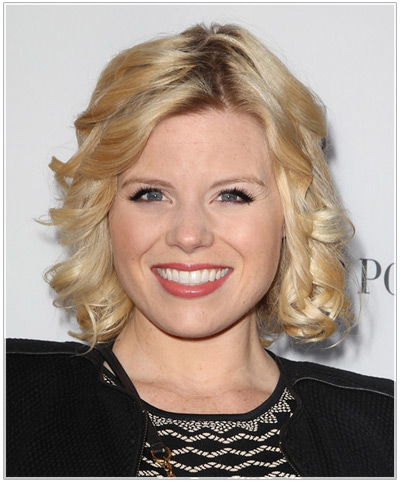 Megan Hilty hairstyles