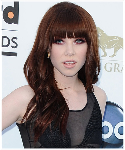 Miraculous Carly Rae Jepsen A Heart Shaped Face Hair History Celebrity Short Hairstyles Gunalazisus