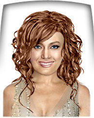 Copper chestnut hair color