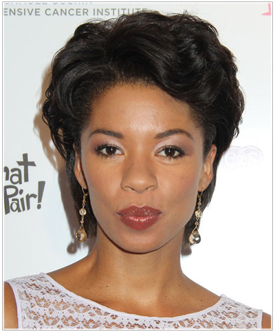 Angel Parker hairstyles
