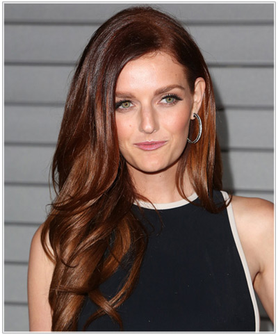 Lydia Hearst hairstyles