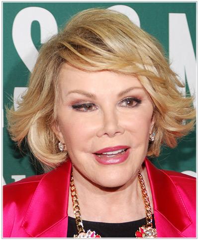 Joan Rivers hairstyles