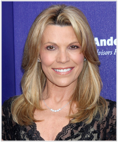 Vanna White hairstyles
