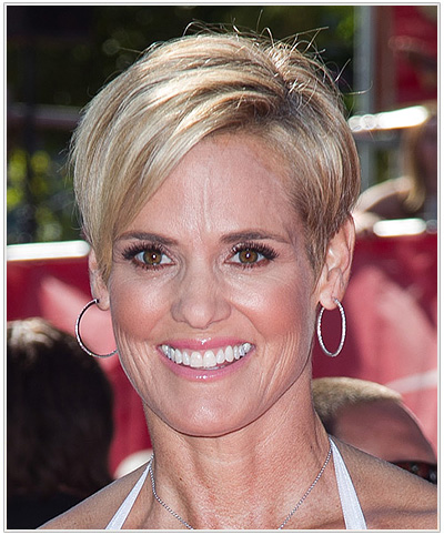 Dara Torres Short hairstyle