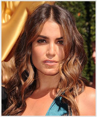 Nikki Reed long wavy hairstyle
