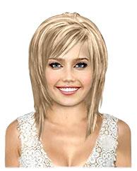 Honey blonde bob