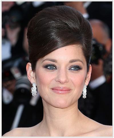 Marion Cotillard Updo Hairstyle
