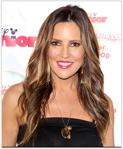 Jillian Barberie Long Wavy Hairstyle