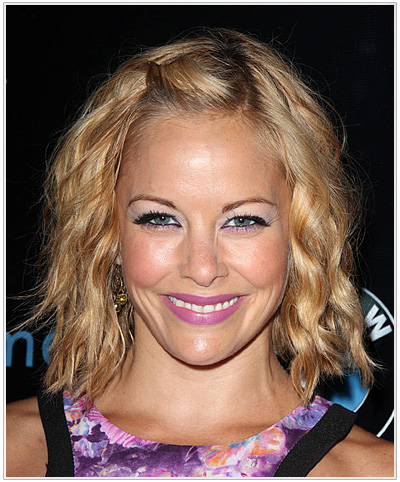 Amy Paffrath Medium Wavy Hairstyle
