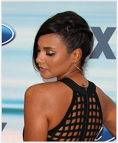 Jessica Lucas Updo Hairstyle