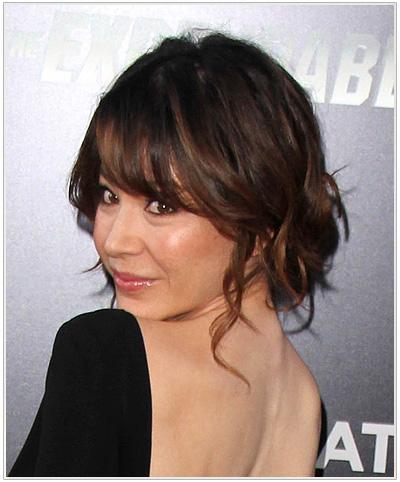Catherine Castro Updo Hairstyle
