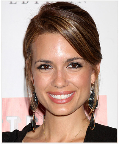 Torrey DeVitto Ponytail Hairstyle