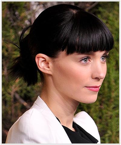 Rooney Mara Updo Hairstylee
