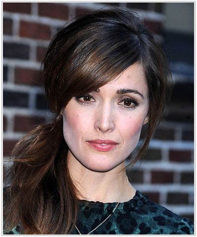 Rose Byrne Updo Hairstyle