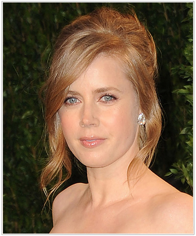 Amy Adams Blonde Updo Hairstyle