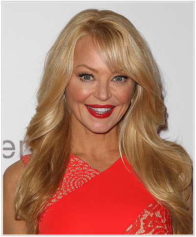 Charlotte Ross Side Swept Bangs Hairstyle