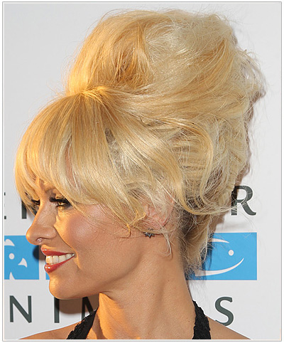 Pamela Anderson Long Straight Halloween Hairstyle