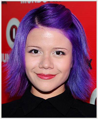 Alison Iraheta Medium Straight Halloween Hairstyle