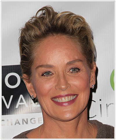 Sharon Stone Pixie Cut Hairstyle