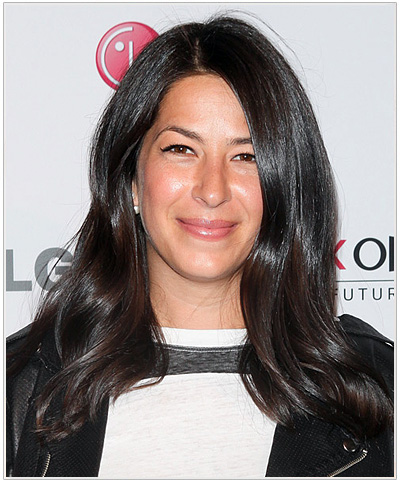 Rebecca Minkoff Long Straight Brown Hairstyle