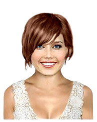 Short length bob haircut
