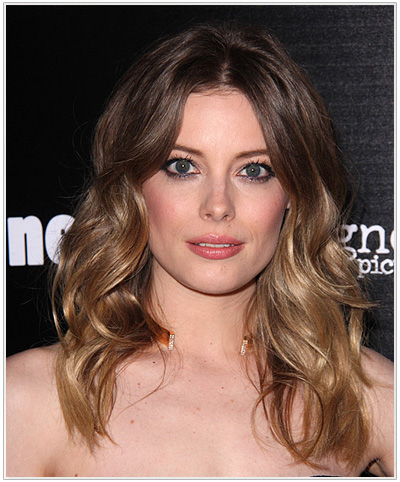 Gillian Jacobs Long Wavy Ombre Hairstyle