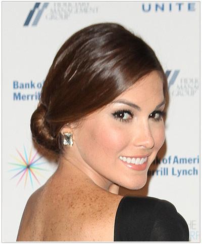 Gabriela Isler Updo Hairstyle