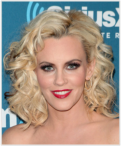 Jenny McCarthy Medium Curly Hairstyle