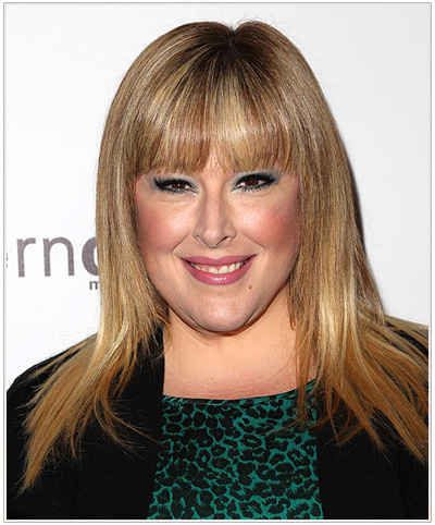 Carnie Wilson Long Straight Blonde Hairstyle