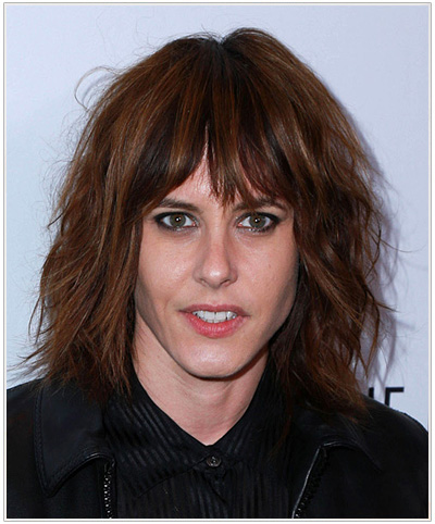Katherine Moennig Medium Straight Hairstyle