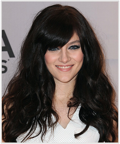 Aubrey Peeples Long Wavy Hairstyle